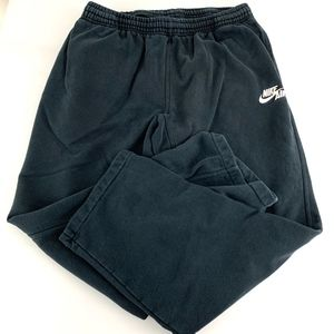 Nike Black Sweatpants Mens Sz XL